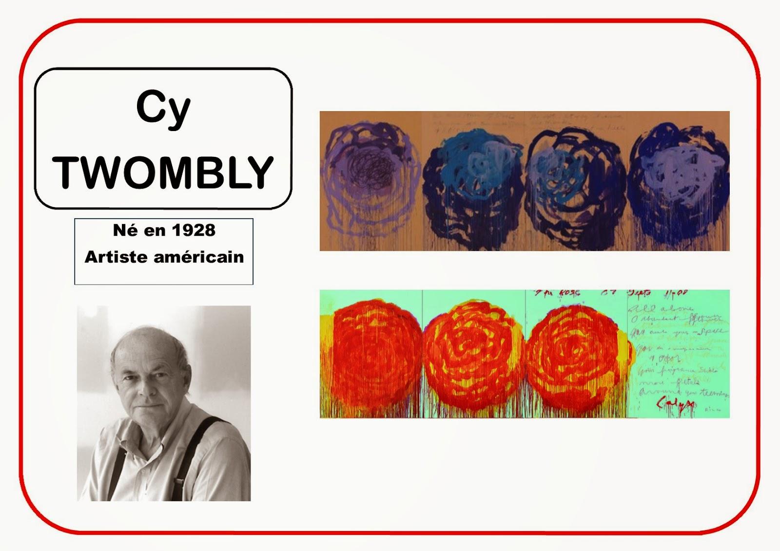 Portrait d'artiste Twombly