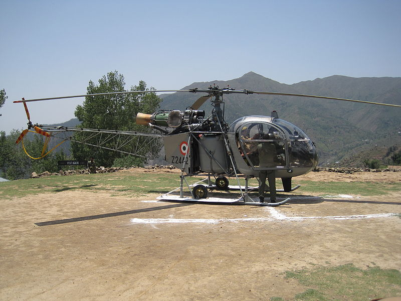 Indian Helicopter Crew Debriefed at Leh headquarters of ...