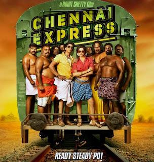 Chennai Express Poster