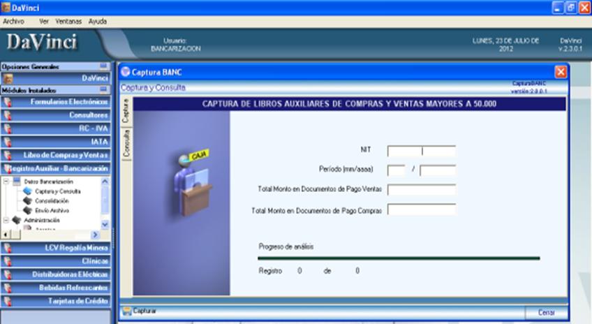Actualidadimpositiva bancarizacion parte i for Oficina virtual impuestos