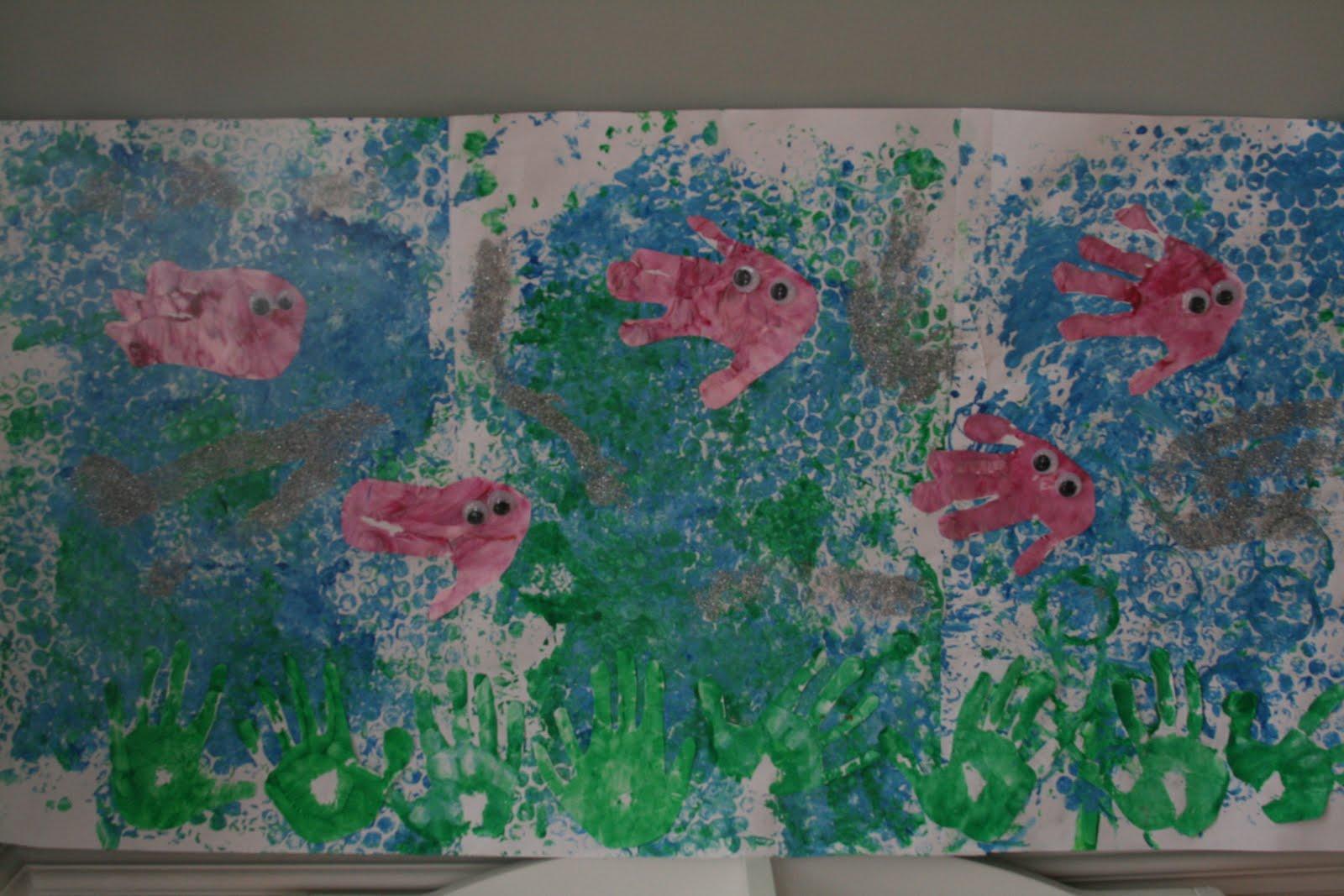 Bubblewrap Print Seascape The Imagination Tree