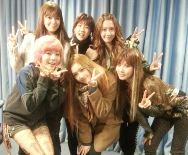 SNSD & Park So Hyun 2