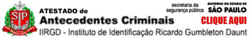 Tirar Antecedentes Criminais