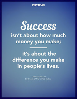 Dream Big, Success is about the difference you can make in people's lives! www.HealthyFitFocused.com
