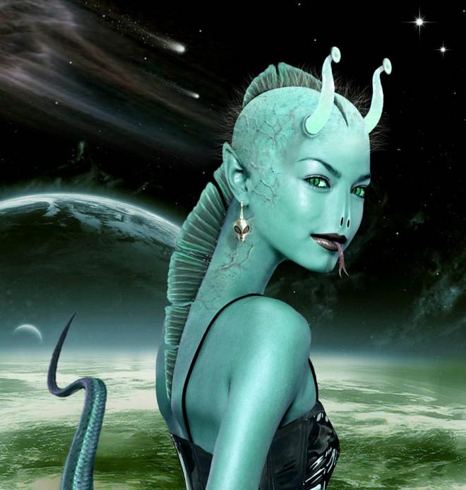Alien Seductress