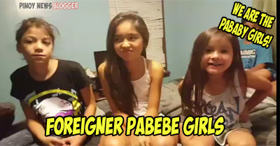 Pababy Girls Foreigner Pabebe Girls