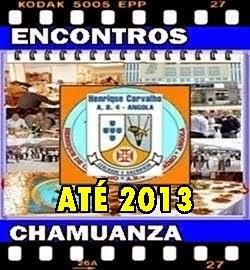 ENCONTROS  CHAMUANZAS ATÉ 2013
