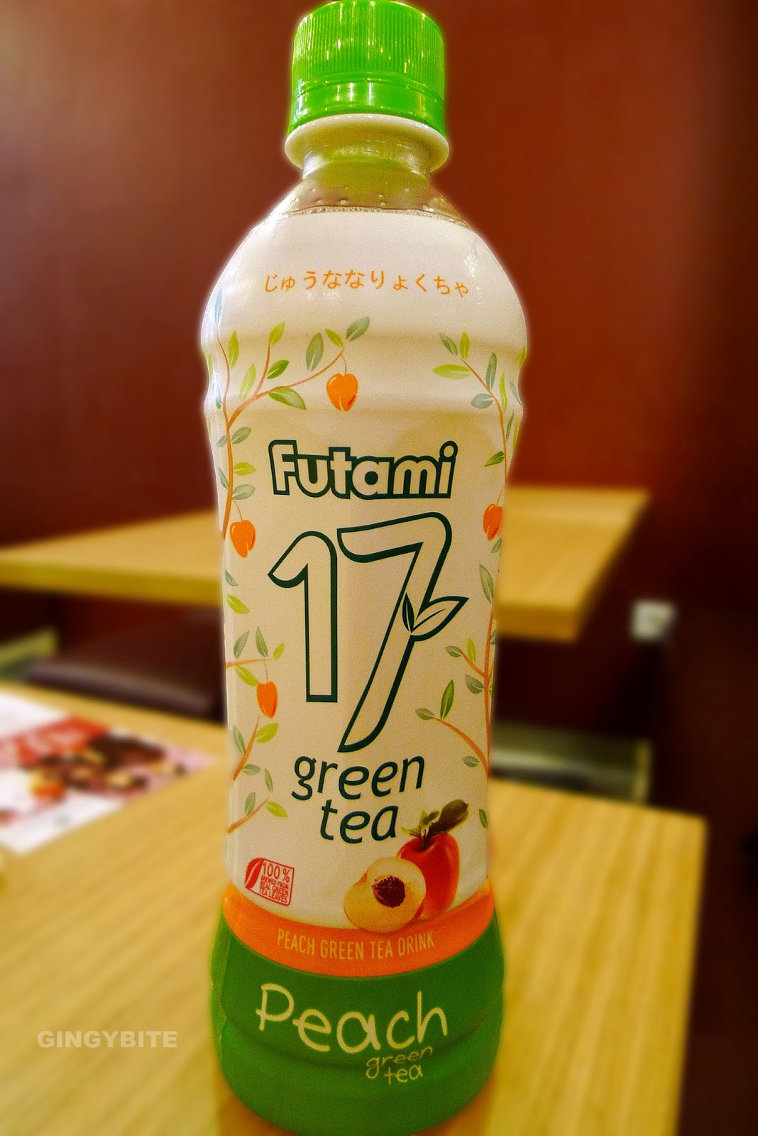Futami Peach Green Tea