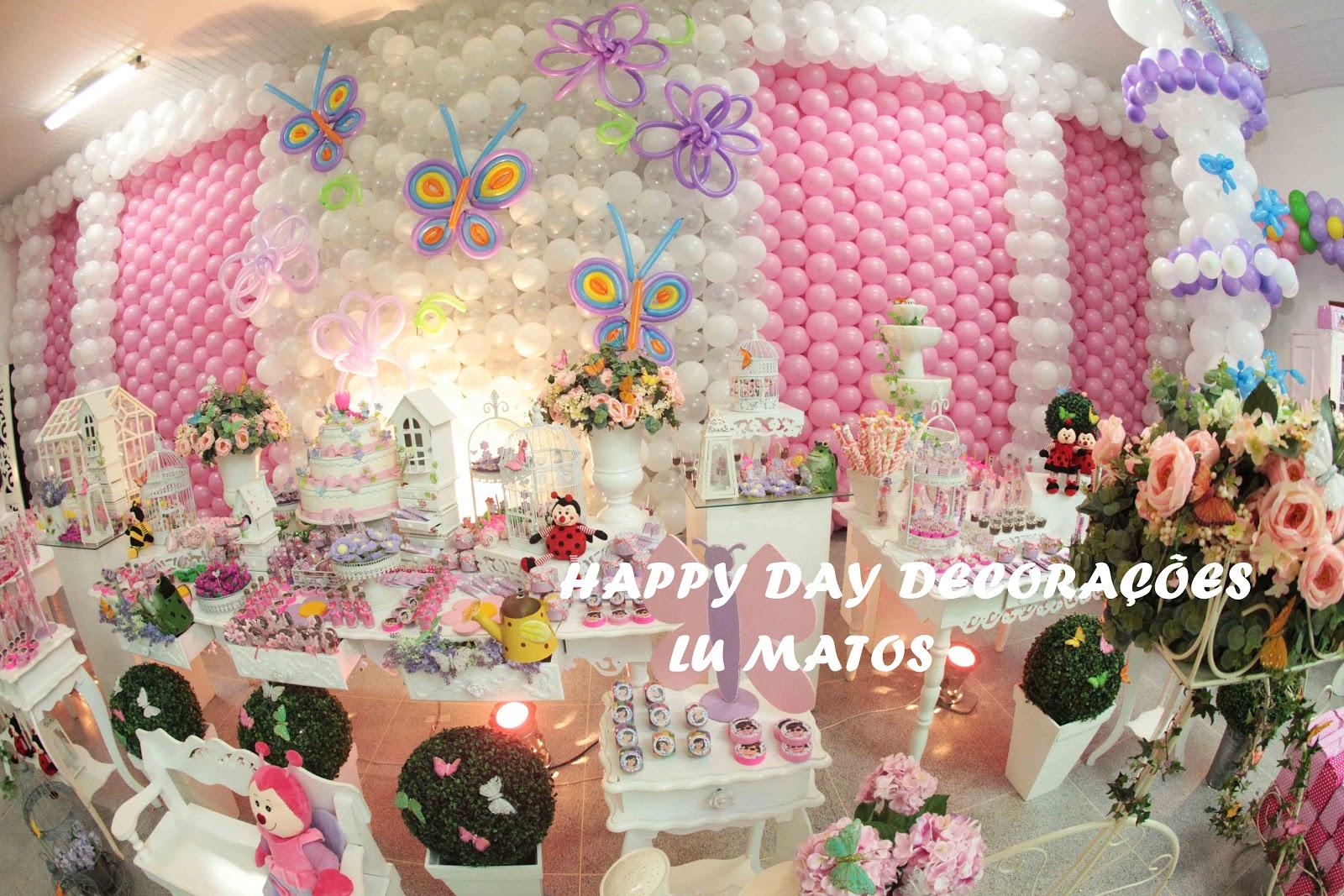 decoracao de aniversario jardim das borboletas:Luciana A. Matos: JARDIM DAS BORBOLETAS