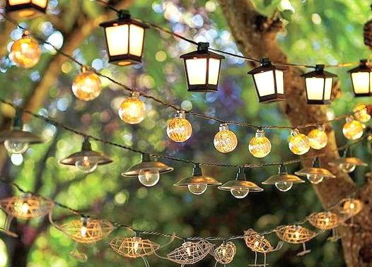 Luces para jardines exteriores dise os arquitect nicos for Luces colgantes para jardin