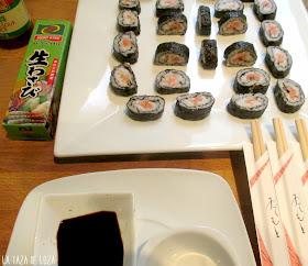 sushi y wasabi
