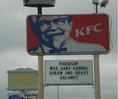 kfc gravy philippines