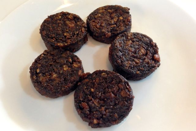 V Pud - vegan black pudding