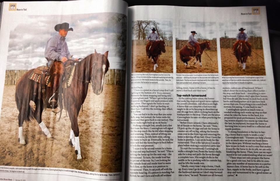 Quarter Horse News Magazine of Quarter Horse News And