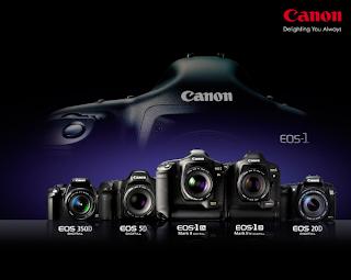 Daftar harga camera Canon DSLR