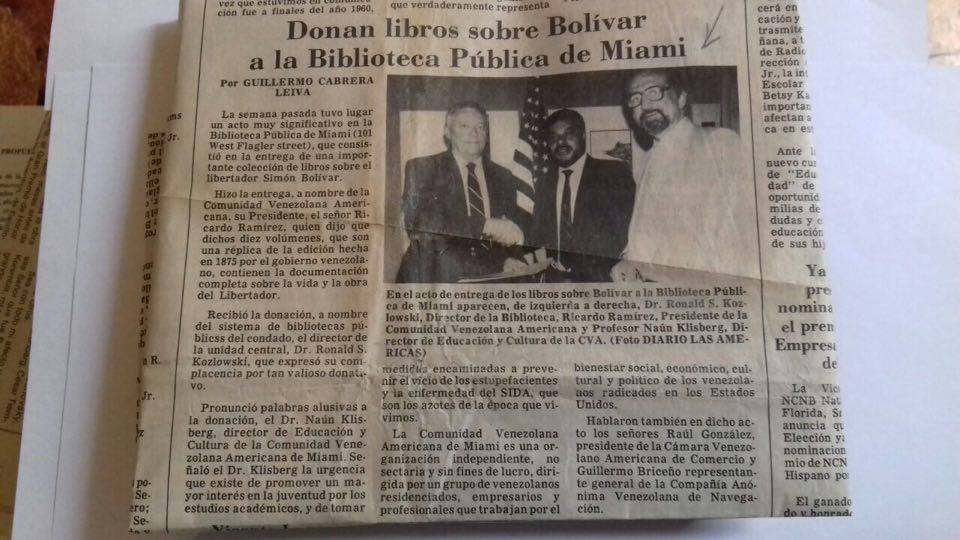 69 - Diario de las Americas. Miami. EEUU. 17/08/1990.