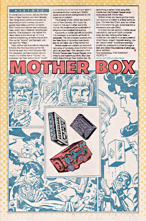 Mother Box DC comic