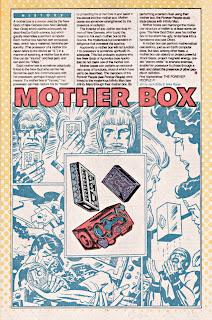 Mother Box DC comic