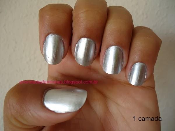 unhas de alumínio, nail art