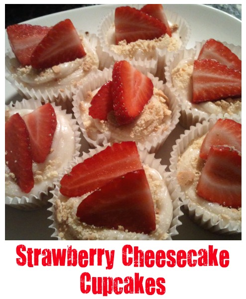 matter of choice: My Strawberry Cheesecake Cup Cakes