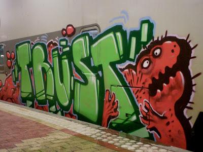 Trust graffiti