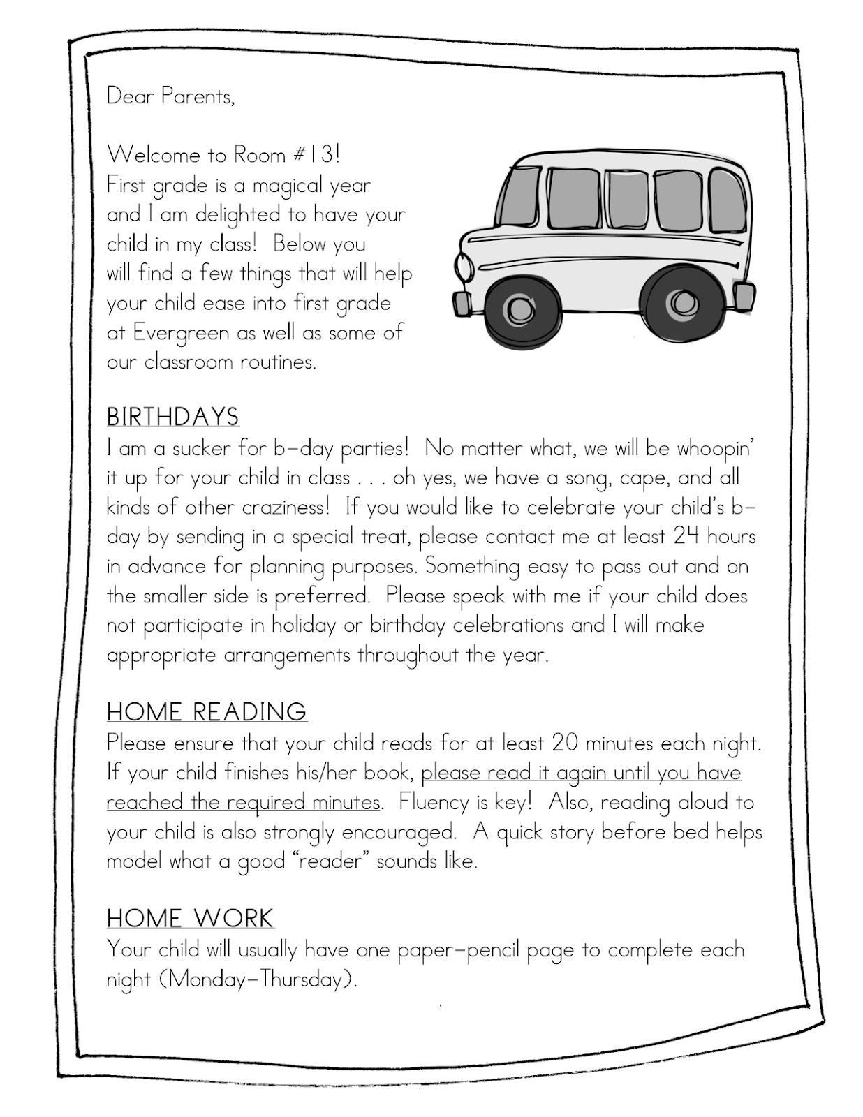Form frenzy pen pal freebie teacher idea factory handbook home to help parents prep for the transition to first grade this puppy outlines some of my expectations and provides them a little insight on thecheapjerseys Choice Image