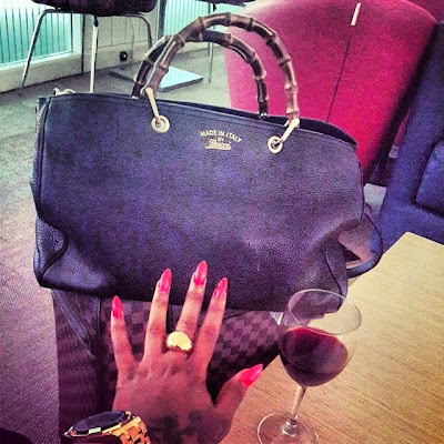 Daniella Okeke shows off her Red Range Sport & Designer bags1