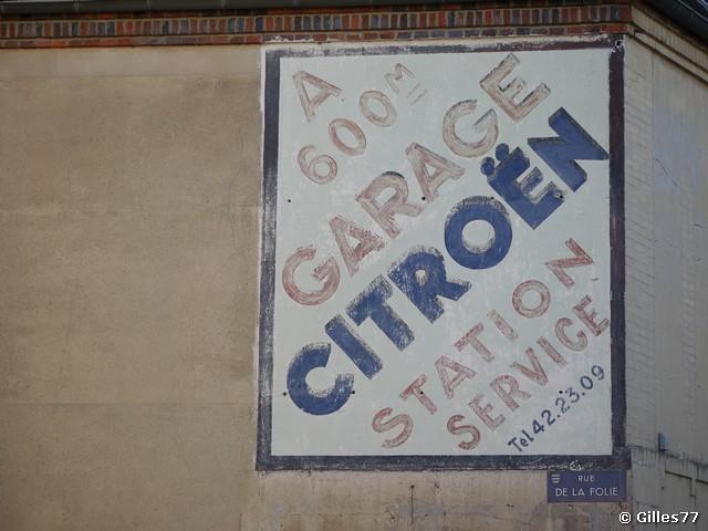 Les murs peints s 39 affichent mars 2012 for Garage citroen corbeil