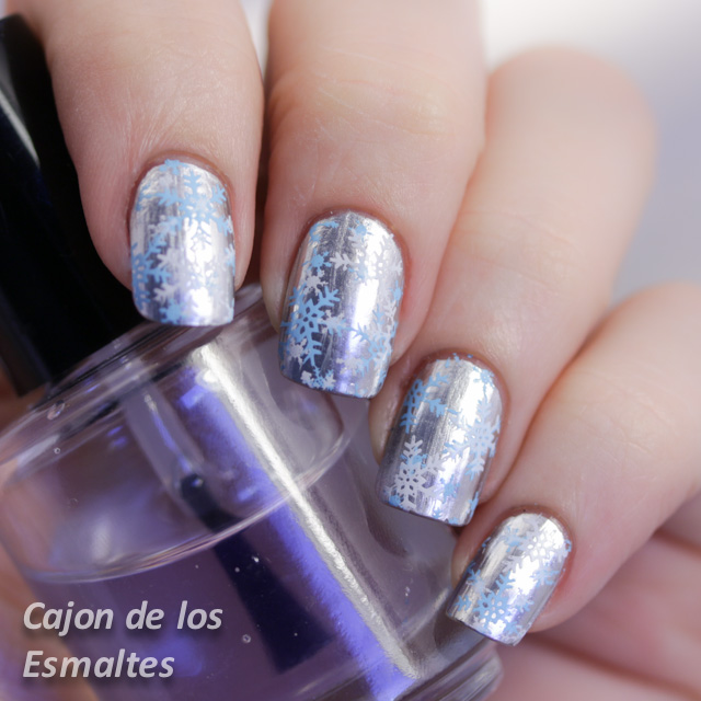 Copos de nieve - Placa BornPretty BP01