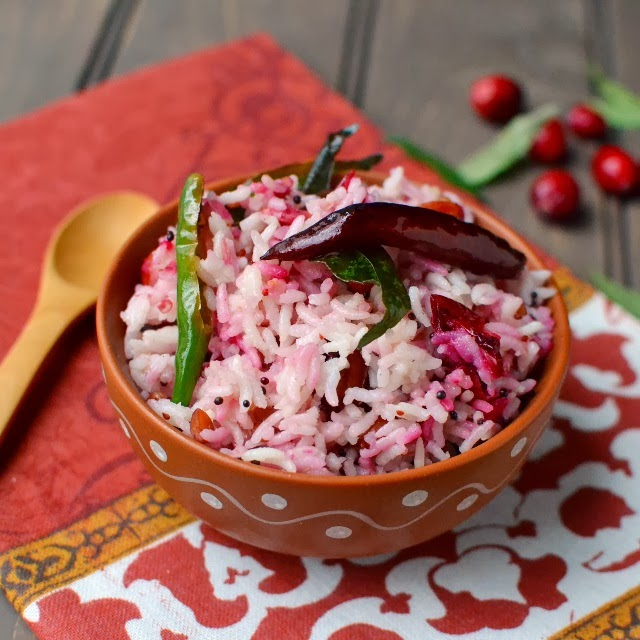 Cranberry Pulihora