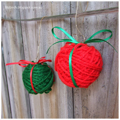 wool winder ornaments