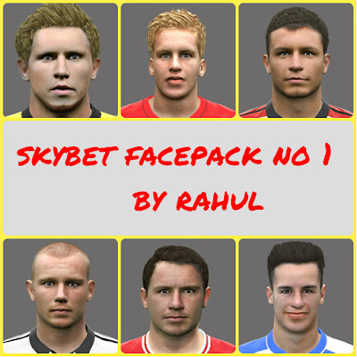 PES 2016 SKYBET FACEPACK NO 1 BY RAHUL