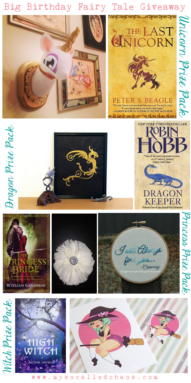 Big Birthday Fairy Tale Giveaway