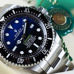 New in Box Rolex Deep Sea Blue