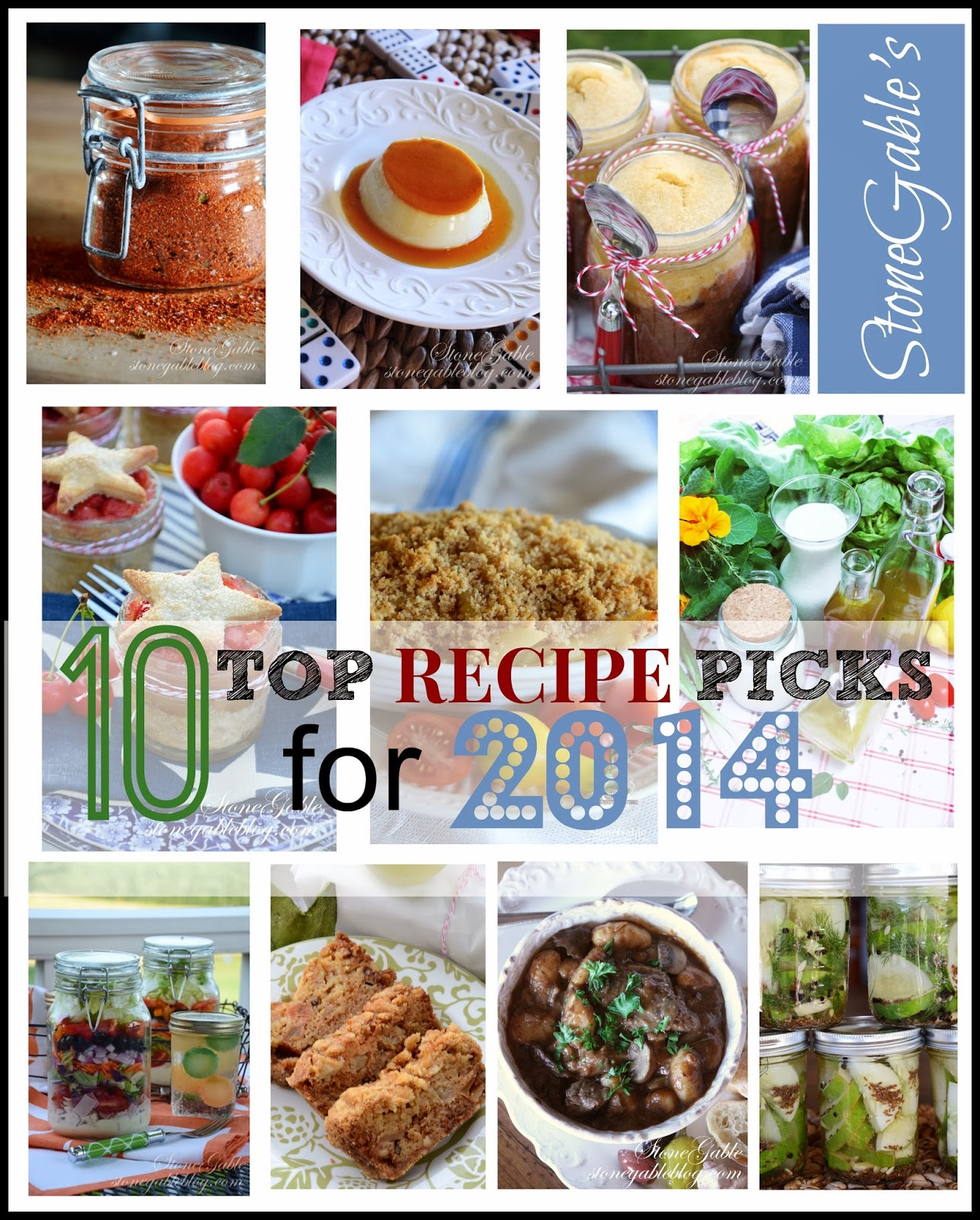Stonegables 10 top recipe picks for 2013 stonegable here are my top 10 best recipes for 2013 all are big family favorites and very delicious forumfinder Images
