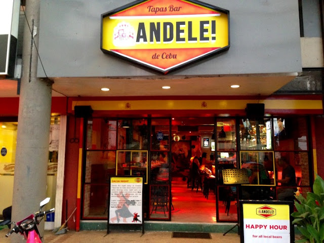 Andele Tapas Bar de Cebu, Tapas Bar in Cebu, Spanish Tapas, Larry Marshall, Laila Saballa, Restaurants in Mango Avenue