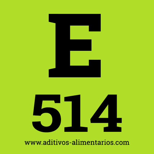 E514 - Sulfatos de Sodio