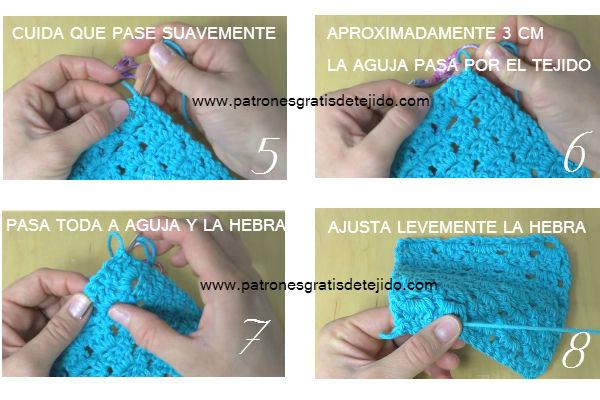 Cómo cerrar tejido crochet prolijamente