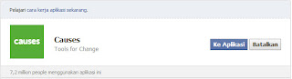 Cara mendapatkan ribuan jempol di status facebook