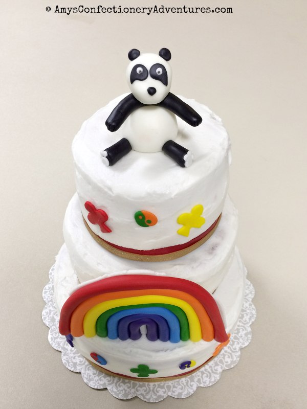 Amy S Confectionery Adventures Rainbow For Girls Cake