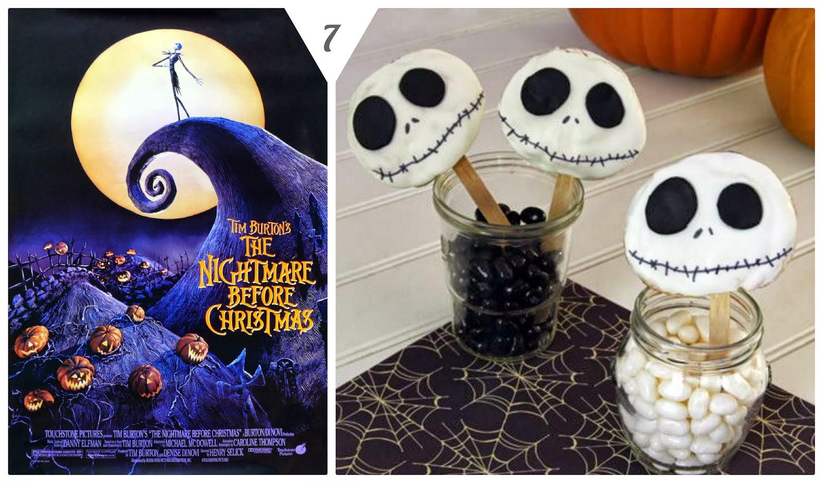 ... . The kids would absolutely love these Jack Skellington Cookie Pops