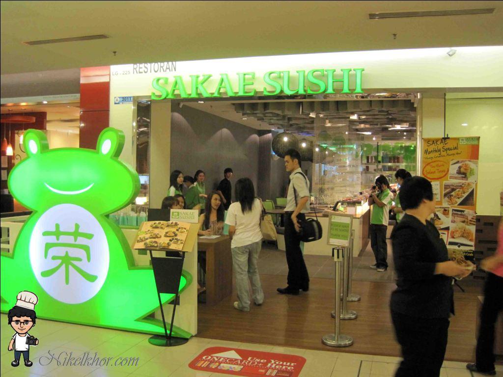 Sakae Sushi 1 Utama Shopping Centre Pj Nikel Khor Papago Kaki