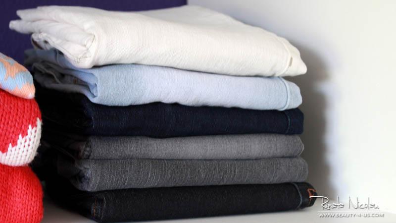 Aprenda duas formas para dobrar calças #dicaemumminuto