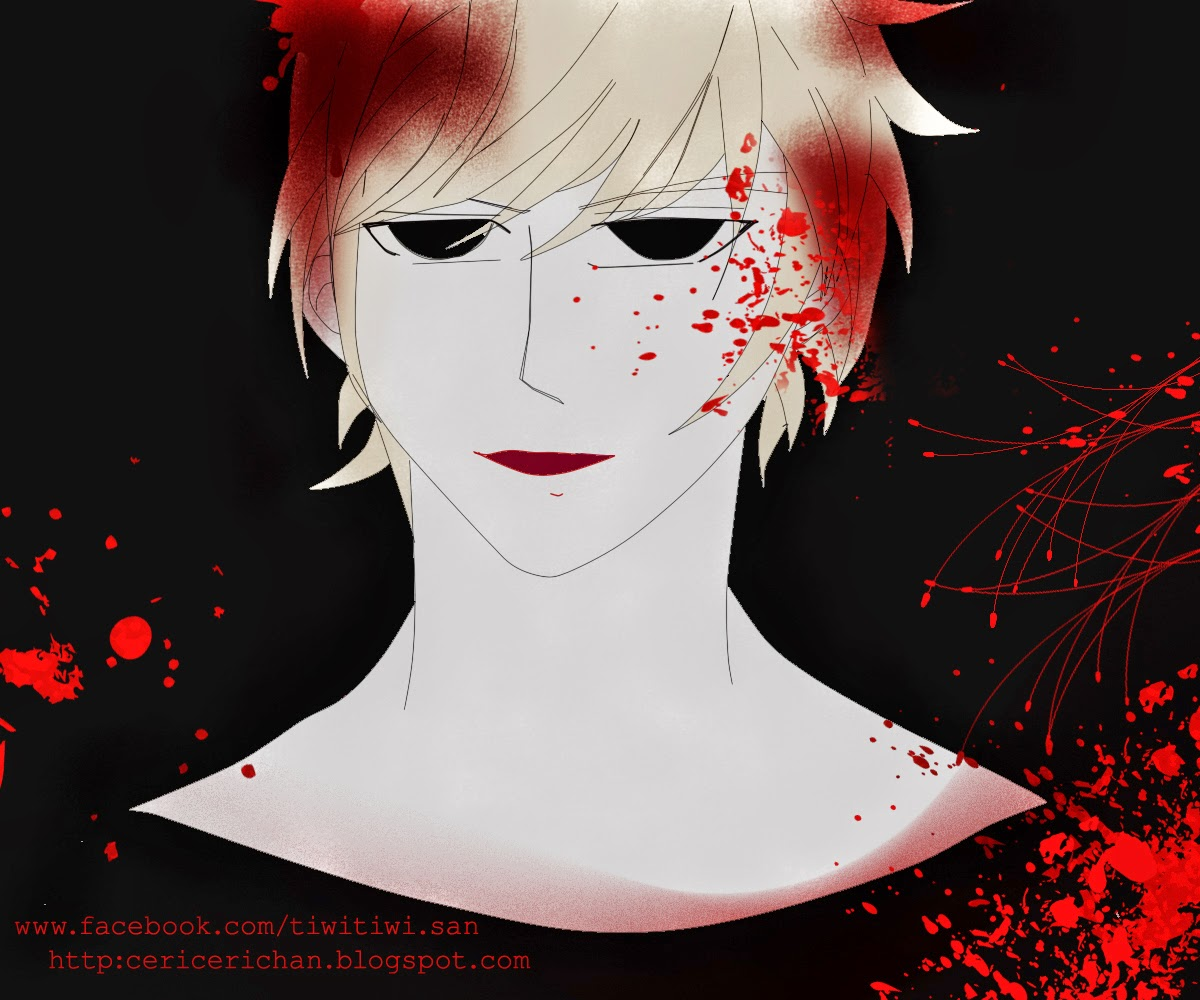 dear, sweet, cool, man, anime, pretty, boy, Paint Tool SAI, drawing, vampire