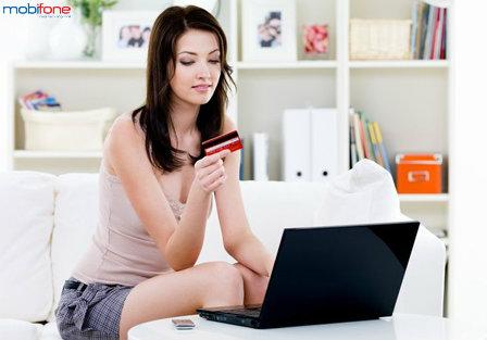 Mobifone khuyến mãi 50% cho TB nạp tiền trực tuyến tháng 06/2015