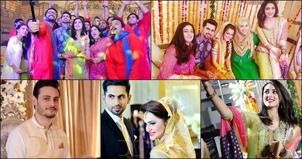 The Wedding Ceremony Took Place In Lahore Many Celebrities Attended Event Including Grooms Best Friends Maya Ali Nadia Jameel Osman