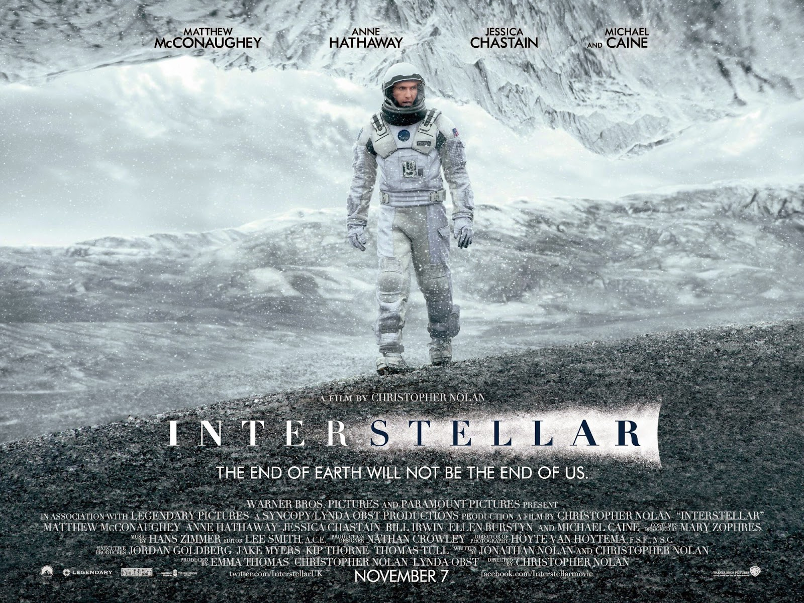 Interstellar, best movies of 2014, Matthew McConaughey, Christopher Nolan, space movies, sci-fi