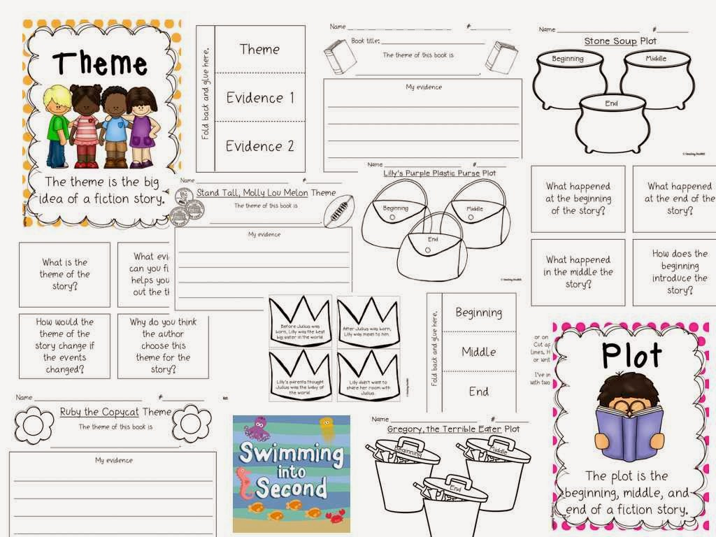 http://www.teacherspayteachers.com/Product/Focus-on-Plot-and-Theme-1088379