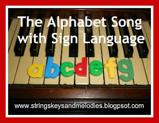 Finger Play Fun Day:  The Alphabet Song with Sign Language photo