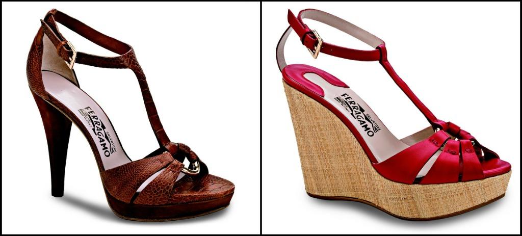Desde el vestidor ferragamo en sinton a con lo cl sico y elegante - Zapatos collage ...